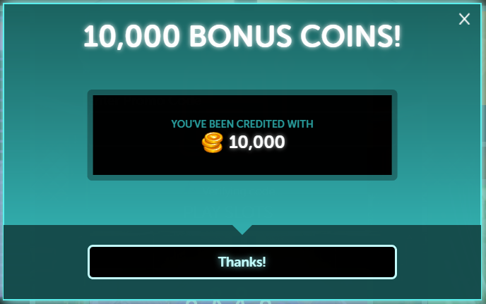Foxwoods online, free coins promo codes 2020